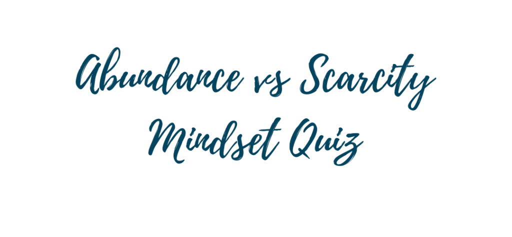 abundance quiz