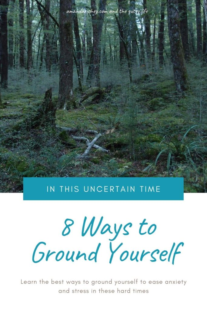 grounding yourself