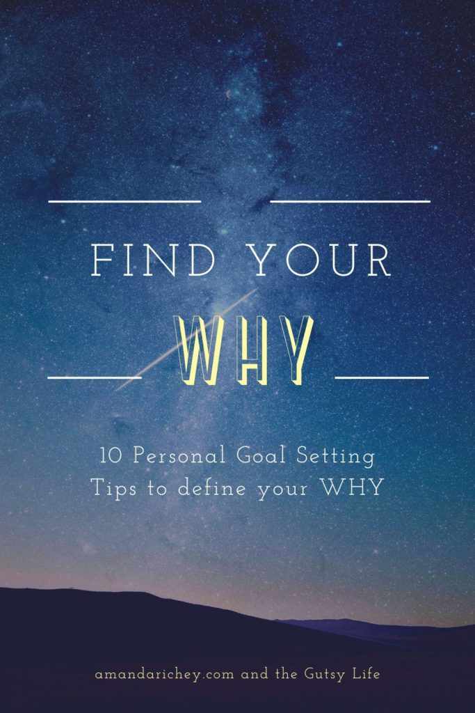 find your why- goal setting tips