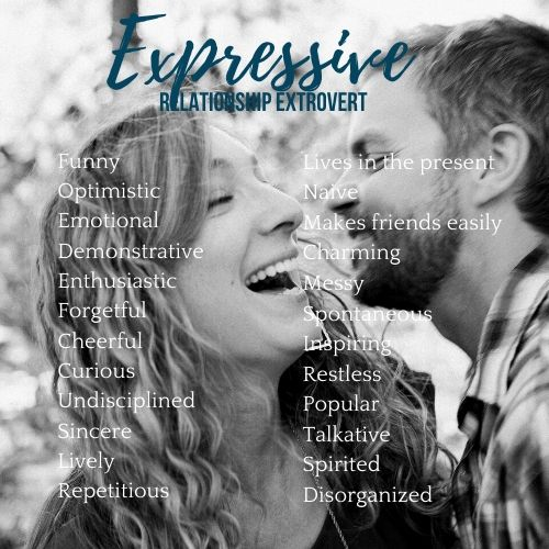 expressive personality type