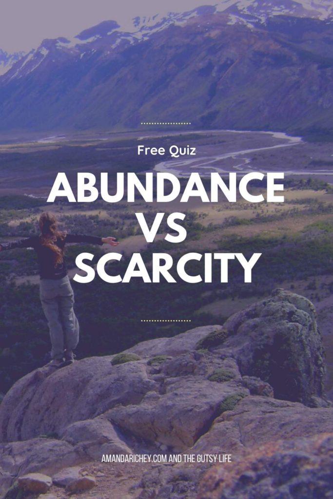 how to develop abundance mindset quiz